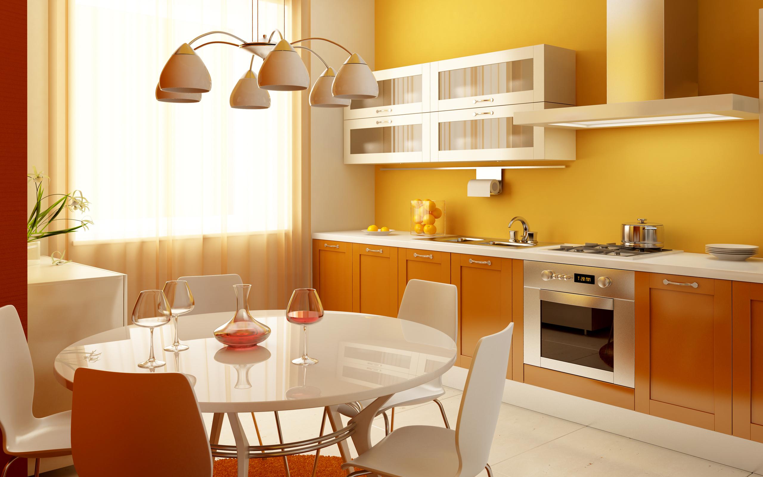 Дизайн кухни по проще